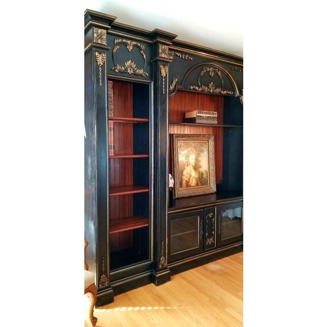 Custom Habersham Influenced Book Shelves For Sale - Image 9 of 13