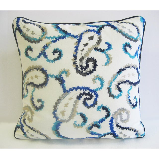 Antique Embroidered Bulgaro Pillow - Image 2 of 5