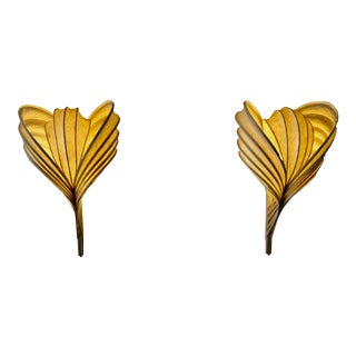 Mid-Century Modern Wall Sconces by William Leslie - a Pair For Sale