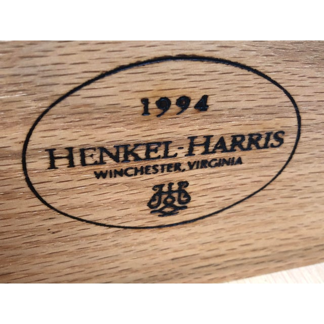 Henkel Harris Solid Cherry Long Dresser For Sale - Image 11 of 13