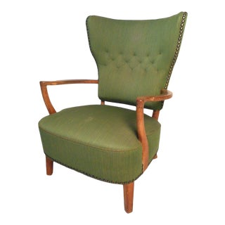 Mid-Century Danish Lounge Chair For Sale