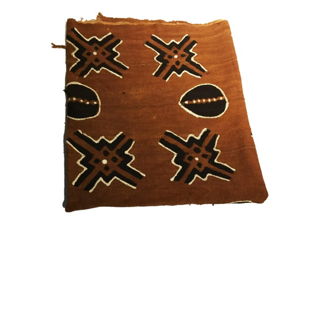 Bogolan Mali Mud Cloth Textile For Sale - Image 4 of 11