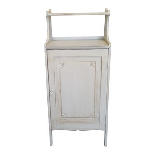 Vintage Painted Storage Cabinet