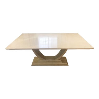 Karl Springer Bone Dining Table For Sale
