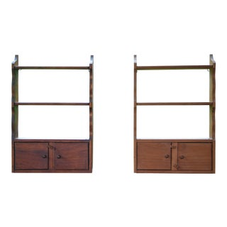 Vintage Knick Knack Shelves - a Pair For Sale