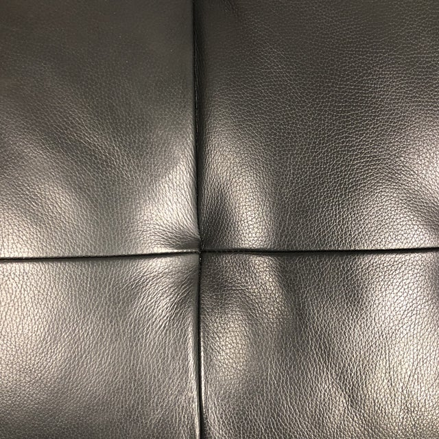 Natuzzi Silvio Pheonix Gray Leather Sectional For Sale - Image 9 of 10