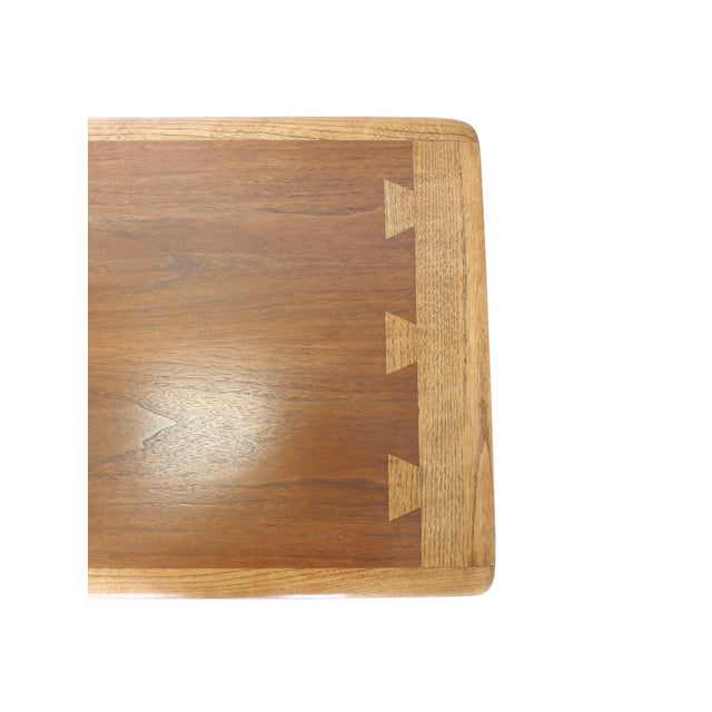 Mid-Century Ash and Walnut Coffee Table by Lane - Image 6 of 9