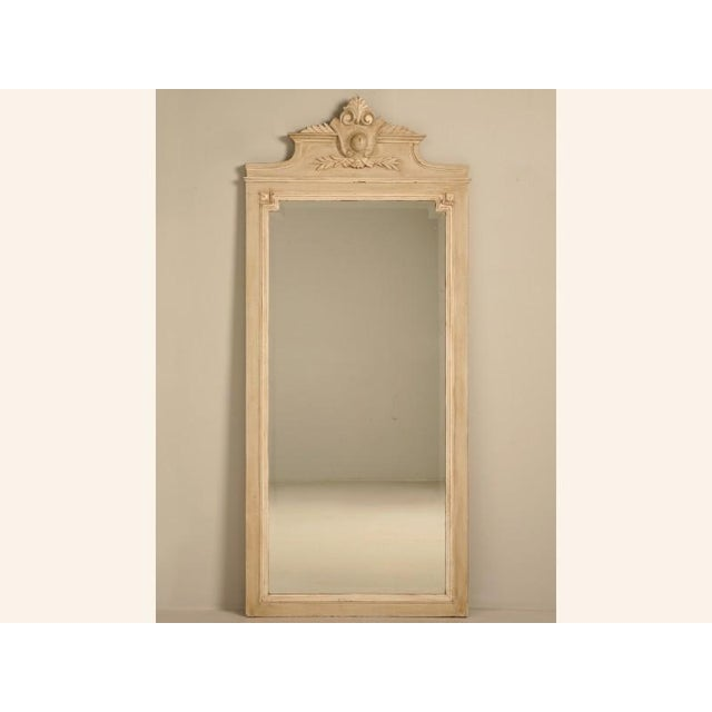 Circa 1890 French Painted Mirror - Image 2 of 11