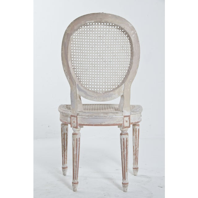 French Caned Chair - Image 5 of 8