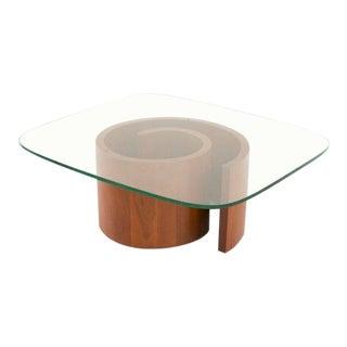 Vladimir Kagan Selig Snail Coffee Table For Sale