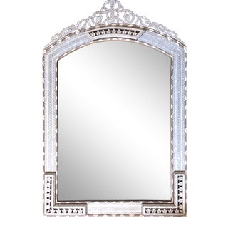 Contemporary Style Moorish Mother of Pearl Inlaid Mirror For Sale