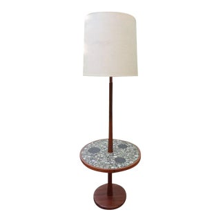 Jane & Gordon Martz Mosiac Tile Floor Table Lamp for Marshall Studios