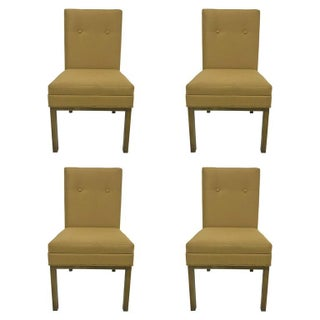Italian Stendig Dining Chairs - S/4