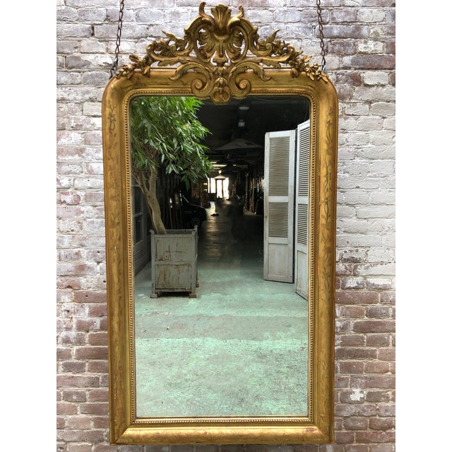 French Louis Philippe Mirror , 19th Century For Sale - Image 9 of 9