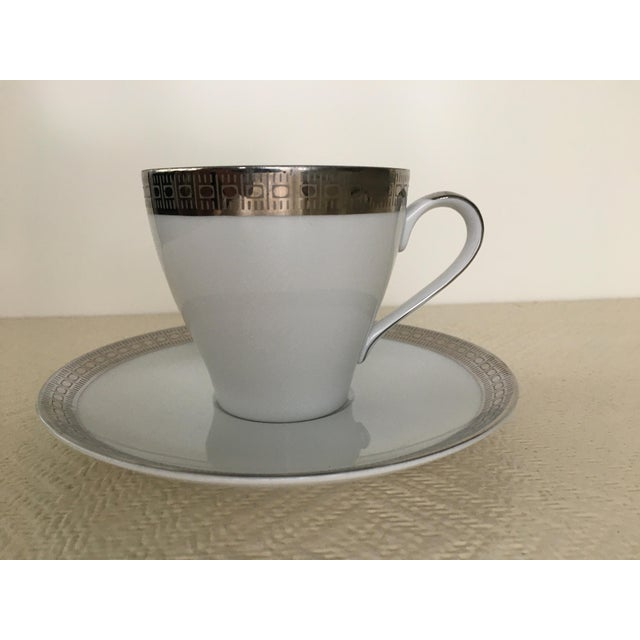 Vintage Mikasa Silver Plated Dinnerware Set With Serving Pieces, Place Settings for 6 - 53 Pieces For Sale In Miami - Image 6 of 13
