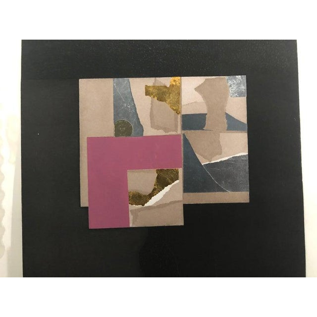 "1970s Vintage 1973 Louise Nevelson ""Aquatint Iii"" Pace Galleries Aquatint Etching and Collage Pencil Signed and Numbered 10 of 90 For Sale - Image 5 of 13"