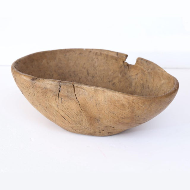 Swedish Root Wood Bowl For Sale In Houston - Image 6 of 6