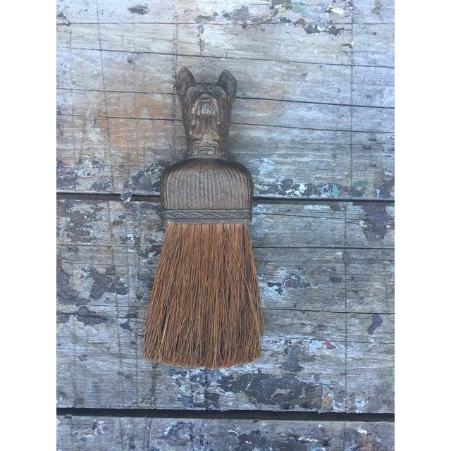Vintage Bulldog Whisk Broom/Shoulder Brush - Image 4 of 10