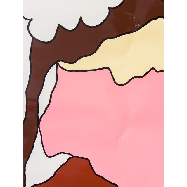 """Herman Miller """"Herman Miller Summer Picnic"""" Ice Cream Sundae Poster For Sale - Image 4 of 7"""