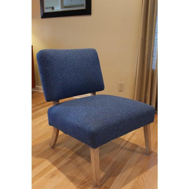 Vintage Mid-Century Modern Slipper Chair - Image 4 of 5