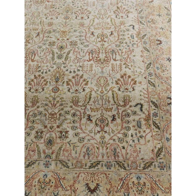 Indian Hand-Knotted Rug - 6' x 9' For Sale - Image 10 of 10