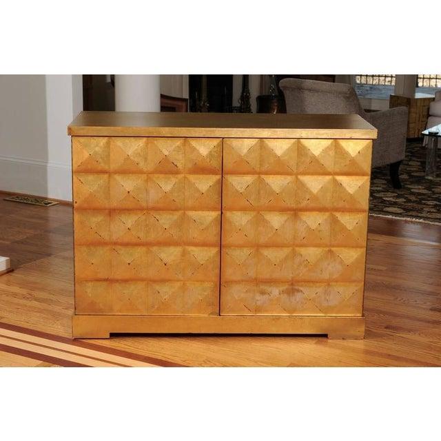 Wood Elegant Custom Diamond Cabinet by Barbara Barry for Baker For Sale - Image 7 of 10
