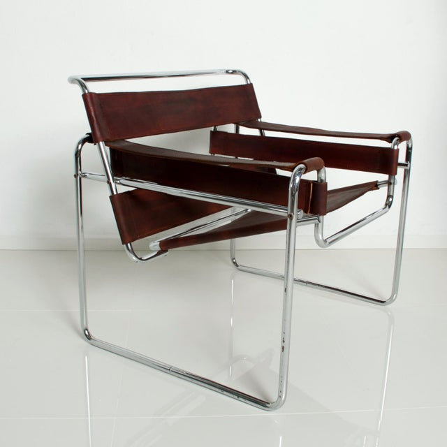 Pair of Marcel Breuer Wassily Chairs for Gavina, Mid Century Modern Italy For Sale - Image 11 of 11
