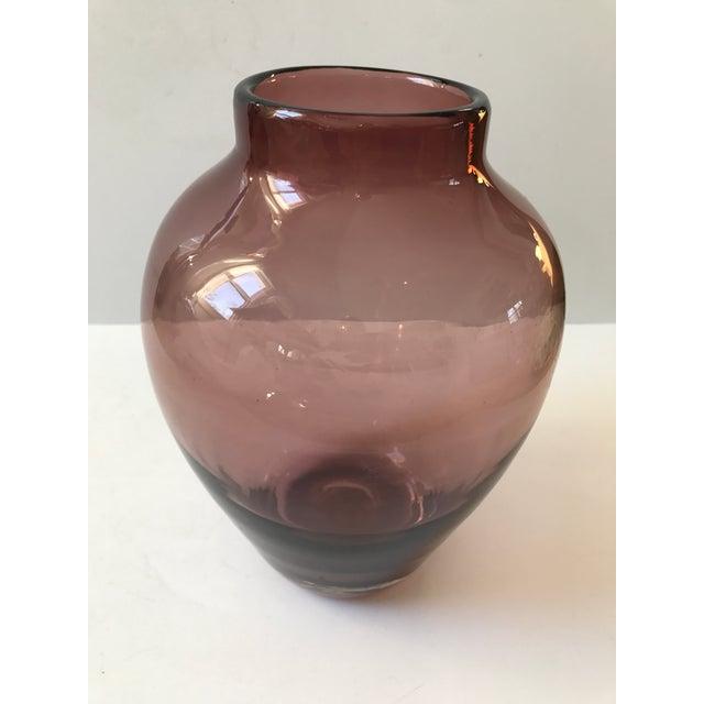 Amethyst Art Glass Vase - Image 4 of 6
