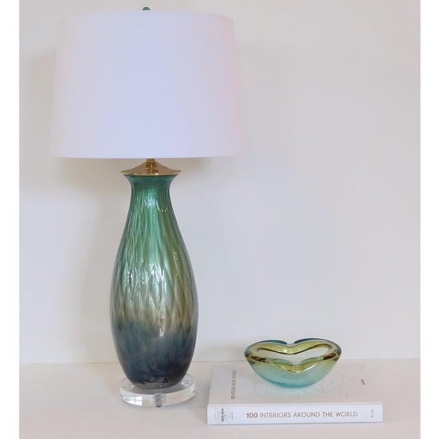 Tri-Color Mercury Glass Lamp - Image 6 of 6