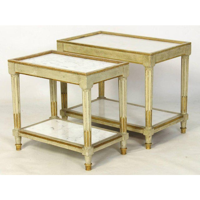 Italian Side Tables - a Pair - Image 2 of 10