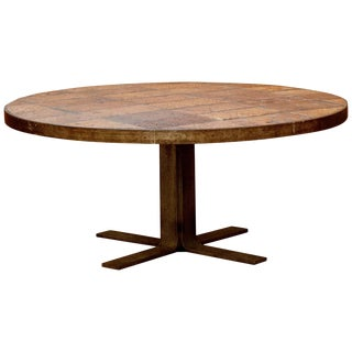French Terracotta Table, Circa 1960 For Sale