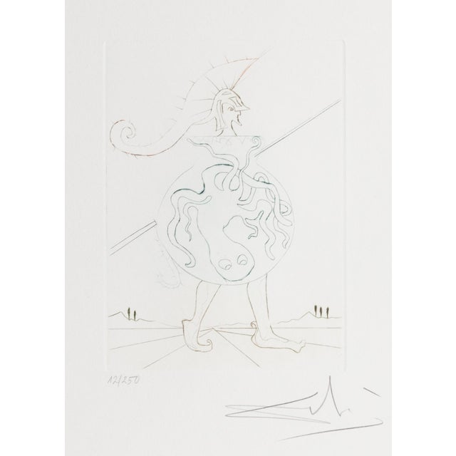 Salvador Dali, Henry V, Figurative Etching For Sale In New York - Image 6 of 6