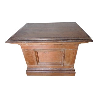 Kitchen Island Cabinet With Inside Storage For Sale