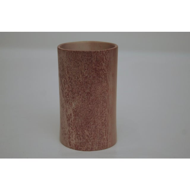 Contemporary Minimalist Carved Marble Vase / Pencil Cup For Sale - Image 3 of 13