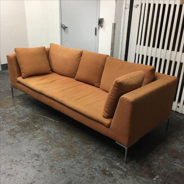 b b italia charles sofa chairish. Black Bedroom Furniture Sets. Home Design Ideas