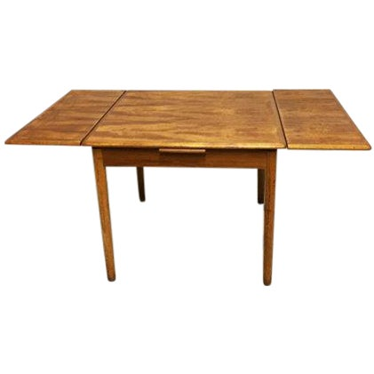 Mid-Century Modern Teak Dining Table - Image 1 of 6