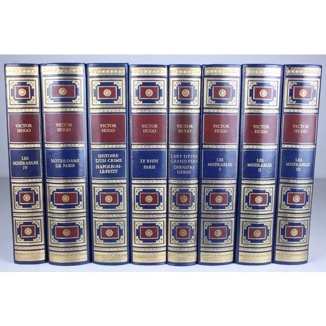 Victor Hugo French Books - Set of 8 - Image 2 of 3