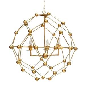 Contemporary Worlds Away Orbit Chandelier For Sale