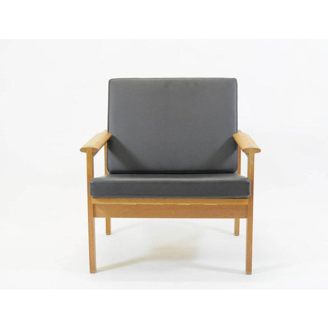 1960s Illum Wikkelsø Danish Capella Lounge Chair For Sale - Image 9 of 9