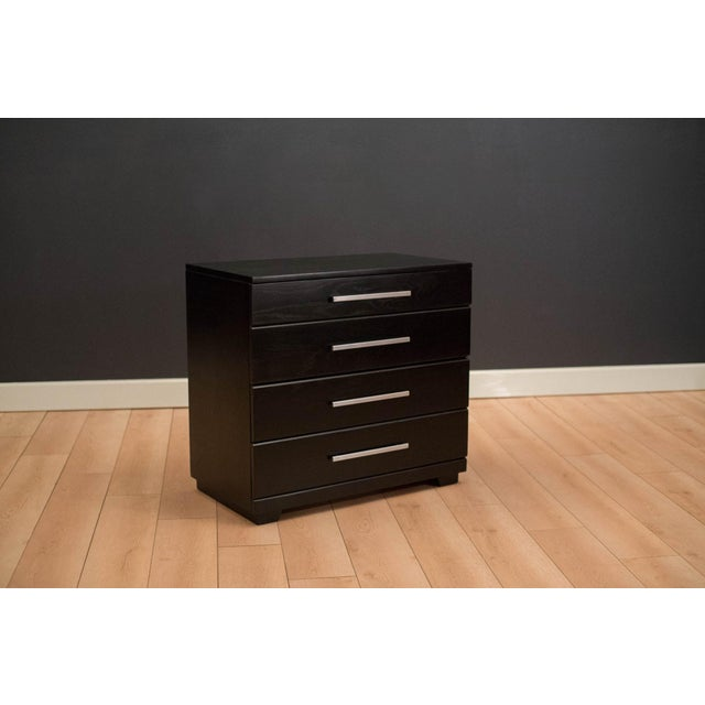 Black Vintage Mid-Century Raymond Loewy Dresser Chest For Sale - Image 8 of 8