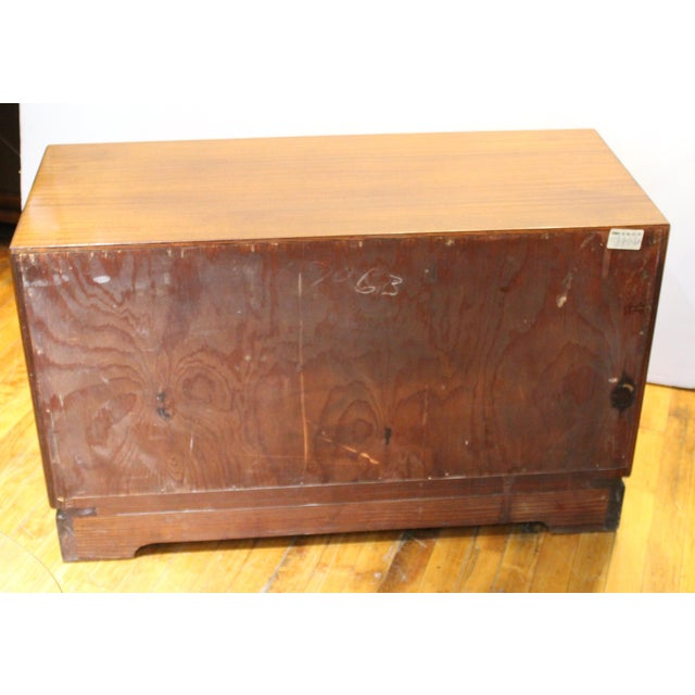 Grosfeld House Art Deco Mahogany Low Cabinets or Nightstands - a Pair For Sale - Image 12 of 13
