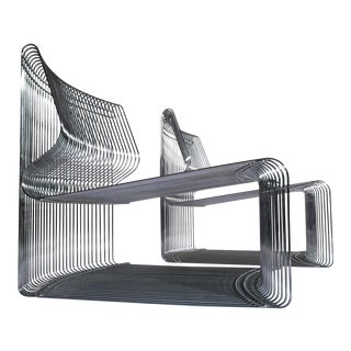 Verner Panton for Fritz Hansen Pair of Pantonova Chairs, Circa 1971 For Sale