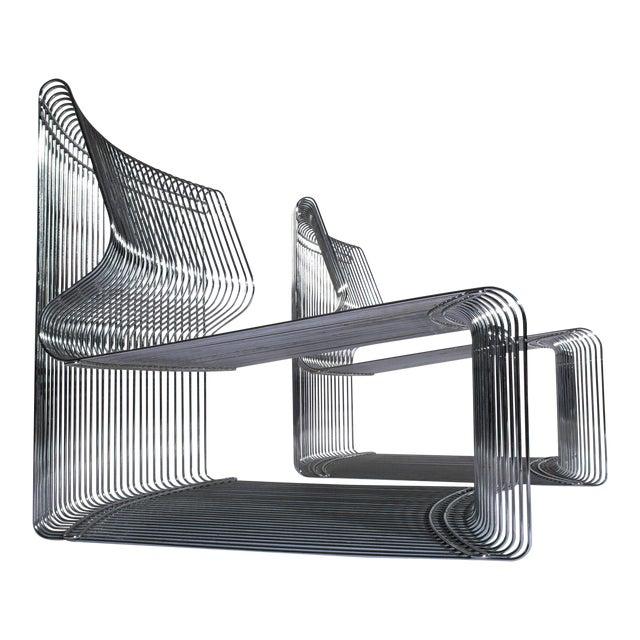 Verner Panton for Fritz Hansen Pantonova Chairs C. 1971 - a Pair For Sale