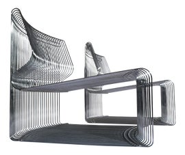 Image of Danish Modern Club Chairs