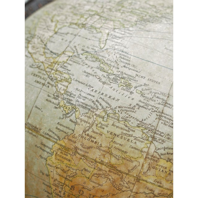 Mid 20th Century Terrestrial Globe For Sale - Image 5 of 9