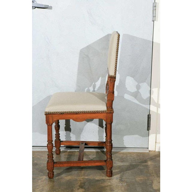 Wood Dining Side Chairs - Set of 12 For Sale - Image 7 of 9