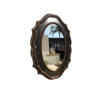 Modern Medallion Wall Mirror For Sale