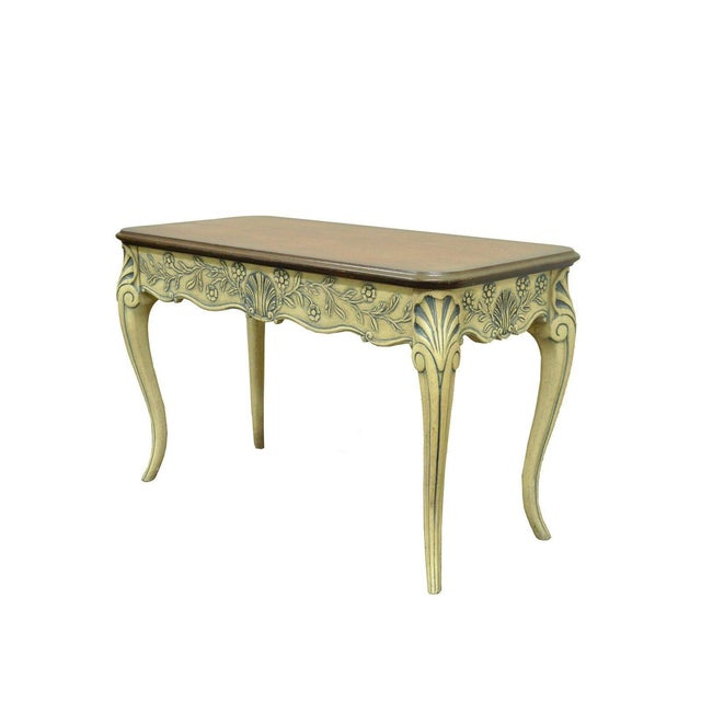 Vintage Louis XV French Country Style Drawer Console Table Chairish - French country style console table