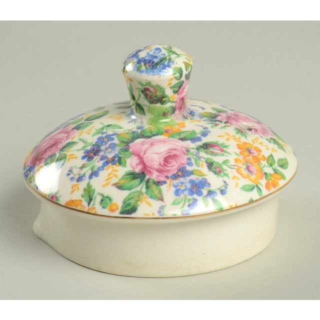 Red James Kent Rosalynde Chintz 4 Cup Teapot & Lid For Sale - Image 8 of 10