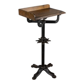 19th Century French Industrial Side Table For Sale